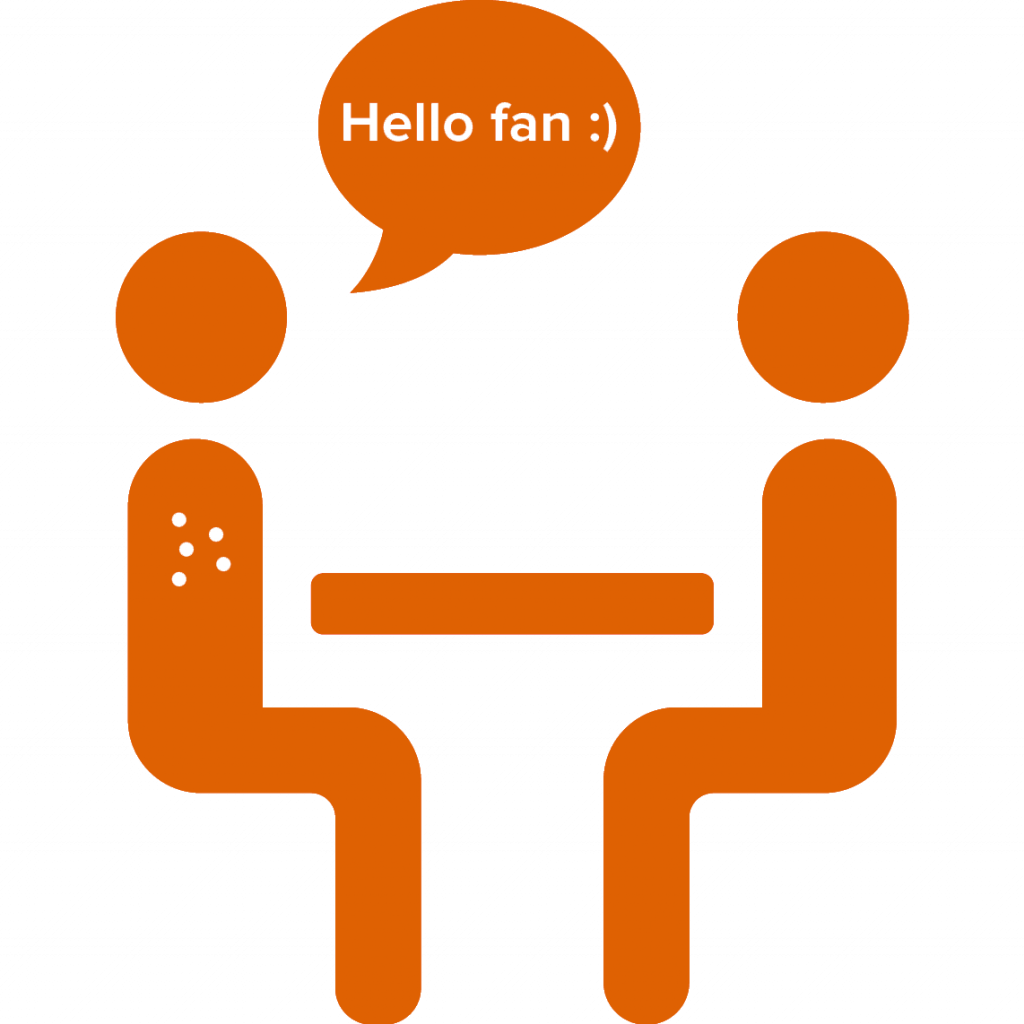 connect with fans